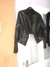 Black Buttonless Veste-Taille 12-Alive Girl