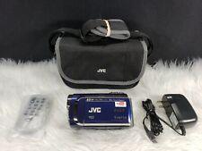 JVC Everio GZ-MG630 60GB Camcorder -  Sapphire blue