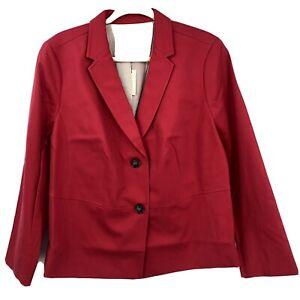 NWT's Talbots Pink Blazer Jacket 18WP 18 Petite $179 Career Spring