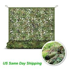 Camo Netting Woodland Military Camouflage Mesh Netting for Camping Hunting