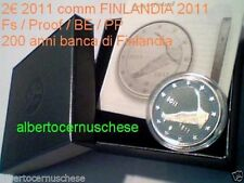 2 euro 2011 Fs proof BE PP FINLANDIA Finlande Finland Finnland 200 th Bank Banca