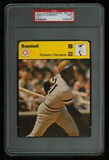 PSA 9 ROBERTO CLEMENTE Sportscaster Baseball Card #61-16 HIGH NUMBER