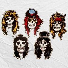 Set Guns N' Roses Embroidered Patches Skulls Axl Rose Slash Izzy Steven Adler