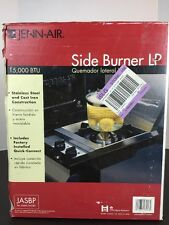 NIB JENN-AIR OUTDOOR BBQ GRILL SIDE BURNER LP & QUICK-CONNECT JASBP JA460 JA580