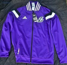Adidas Lakers Warm Up Jacket Brand New With Tag SMALL