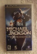 PSP Michael Jackson The Experience Video Game Sealed New