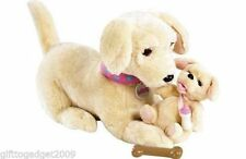 AniMagic Polly and Baby Amber Dogs  New & Sealed