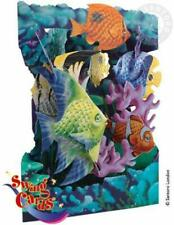 Santoro London Aquarium 3D Swing Card Greeting Card Free Shipping Ssc89