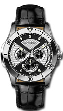 Luxury Men's Designer Watch from the Home Cavadini Full Calendar Gmt Time