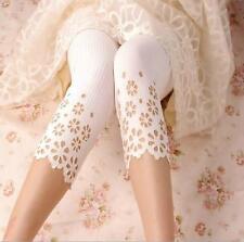 Kids White Capri Leggings for Girls Size M - Shipped From CANADA