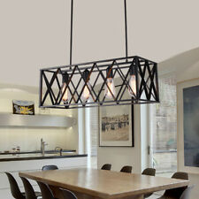 Modern Flush Mount Ceiling Light Large Chandelier Lighting Black Pendant Light