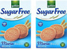 2 Boxes Of Gullon Sugar Free Maria Biscuits 400g (2 x 200g per box)