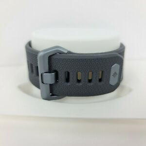 Original Fitbit Ionic Watch Rubber Band Strap Wristband Large Gray New L