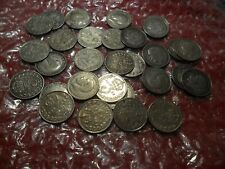 More details for 30 x george v pre 1920 silver threepences.