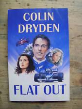 FLAT OUT 1990's F1 Formula One Motor Racing Novel - Colin Dryden