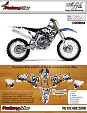 2003-2005 YAMAHA YZF 250 450 ARGYLE  Motocross  Dirt Bike Graphics BY ENJOY MFG
