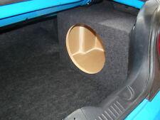"2005-2014 Mustang CONVERTIBLE SUB BOX Subwoofer Enclosure CORNER MOUNT 1-12"" NEW"