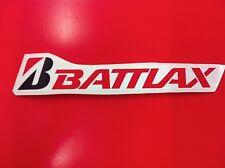 1 Adesivo BRIDGESTONE BATTLAX sponsor moto auto Red 30 cm.