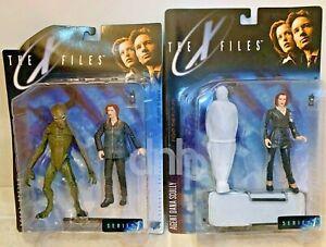 Dana Scully LOT (2) The X Files FTF Series 1 McFarlane Toys Vtg 1998