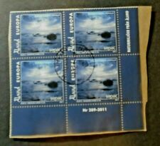 RECENT 4 STAMPS ON PIECE ALAND ISLANDS