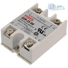 Solid State Relay Module SSR-25 DD Single-Phase DC To DC 5V-80V 3-32V 25A