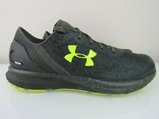 Under Armour Charged Mens 10 Running Shoes Charcoal Athletic Training Sneakers