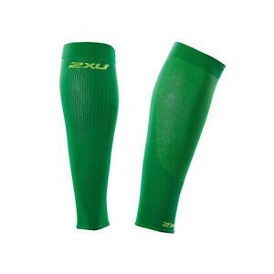 NEW IN BOX 2XU UNISEX Compression  Performance Run Sleeve FERN GREEN SMALL