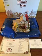 """Lilliput Lane """"Harvest Mill�, American Landmarks Collection by Ray Day, Coa"""
