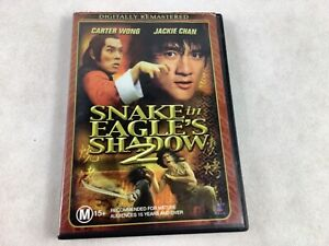 Snake In The Eagle's Shadow 2 DVD Jackie Chan Rare Movie 1978