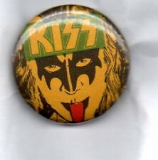KISS -  BUTTON BADGE AMERICAN HARD ROCK BAND Dynasty - Gene Simmons 25mm Pin