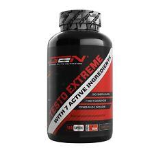Testo Extreme - 180 Kapseln - Hochdosiert - Testosterone Booster - Potenz