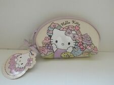 Hello Kitty lilac Cupcake pencil case / make up bag - NEW with tags