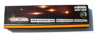 Marklin #8101 Z Scale Mini-Club  Passenger Train Set
