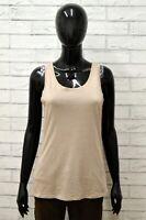 Maglia LIU JO Donna Taglia Size S Maglietta Canotta Shirt Woman Cotone Smanicato