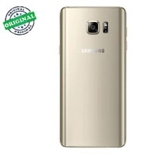 Vitre Arriere Samsung Galaxy Note 5 - Or - Adhesif Inclus