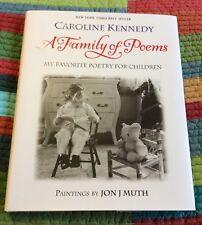 Caroline Kennedy Signed Auto Autographed Book A Family of Poems #1 Ed. Rare 2005