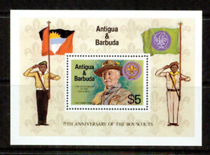 ANTIGUA   - 1982 – SCOUT  S/S – VF  **