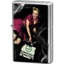 STURMFEUERZEUG / FEUERZEUG 80243 - PIN UP GIRL - SMOKING PERMITTED - NEU