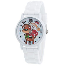 Rubber Kids Girls Boys Stainless Steel Sports Watch Child Students Wrist Watches