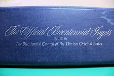 Franklin Mint Bicentennial Ingots: Sterling Silver 70 Bar Set. Rare 1973 To 1981