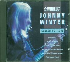 Johnny Winter - Gangster Of Love The World Of Johnny Cd Perfetto