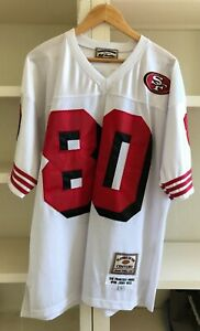 VINTAGE PLAYER OF THE CENTURY  JERRY RICE  LIMITED EDITION JERSEY  49ers