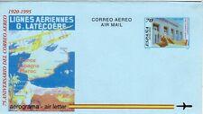 ESPAÑA 1995 AEROGRAMA EDIFIL 220** LXXV Aº DEL CORREO AÉREO EN ESPAÑA