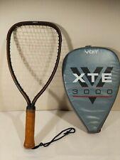 VTG VOIT XTE 3000 GRAPHITE Racquetball Racquet W/ Case, 3 7/8