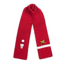 Promo Kidorable Kids Knitted Red Xmas Scarf Childrens Childs Boys Santa Knitwear