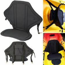 Kayak Seat With Detachable Storage Back Pack Bag Canoe Backrest Hooks Straps