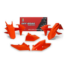 Racetech Plastics kit ORANGE . KTM XC-W 125 150  . 2017 - 2019