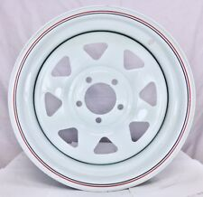 "15X7"" WHITE SUNRAYSIA Wheel FORD PATTERN 0P for Ford, 2WD Hilux and Trailer!!"