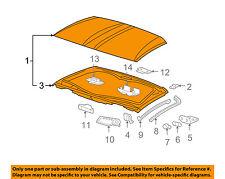Chevrolet GM OEM 05-13 Corvette Removable Top-Roof Panel 12499572