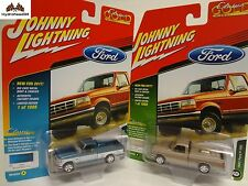 Johnny Lightning 1993 Ford F-150 Set of 2 2017 Classic Gold R2 A&B 17L
